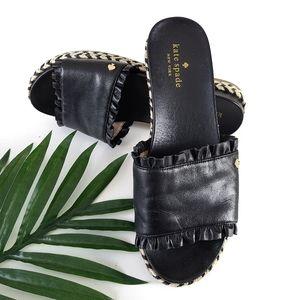 Kate Spade Zahara Espadrille Flat Slides Sandals